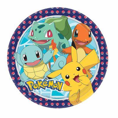 assiettes-pokemon-carton-pikachu|jourdefete.com