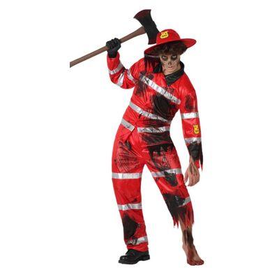 Pompier-zombie-homme-Taille-au-choix | jourdefete.com
