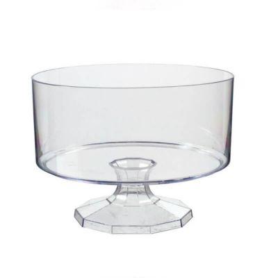 Pot sur Pieds en Plastique Transparent 14.9 cm  - Candy bar | jourdefete.com