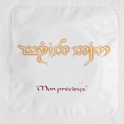 pack 5 preservatifs hobbit | jourdefete.com