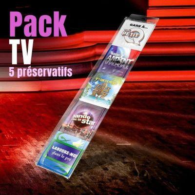 pack 5 preservatifs tv | jourdefete.com