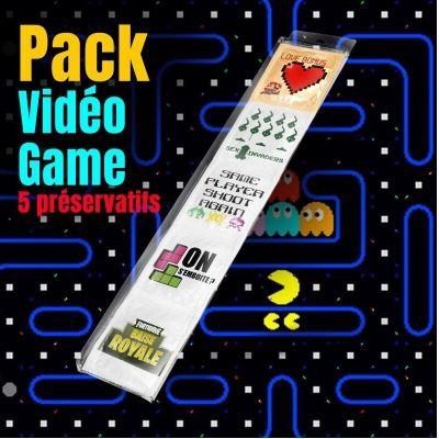 pack 5 preservatifs jeux videos   jourdefete.com