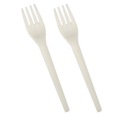 """12 Fourchettes C-PLA - """"Pure"""" - Blanc   jourdefete.com"""