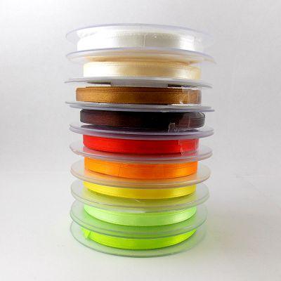 Ruban satin 6mm coloris au choix - Dégradé chaud