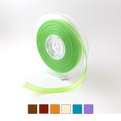 Ruban Organdi Cristal 9 mm - Choix Coloris