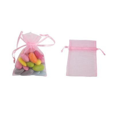 Petits sachets en organdi x10 - Coloris au choix