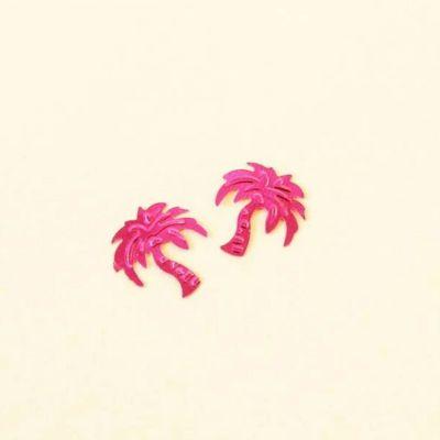Sachet de Confettis de table Palmiers - Rose Fuchsia