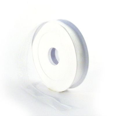 Ruban Organdi 15 mm Blanc