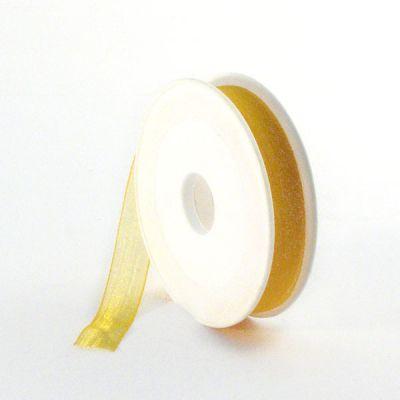 Ruban Organdi 15 mm jaune