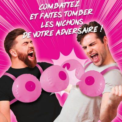 jeu gonflable combat de nichons | jourdefete.com