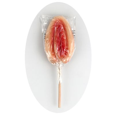 """Sucette Alimentaire Sexy """"Foufoune"""""""