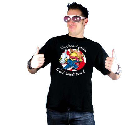 """T-Shirt Drôle"""" Cantonnais plein"""""""