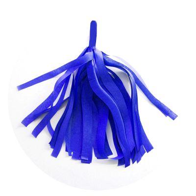 Guirlande 5 tassels - Bleu Roy