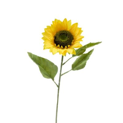 tige de tournesol artificiel 75 cm | jourdefete.com