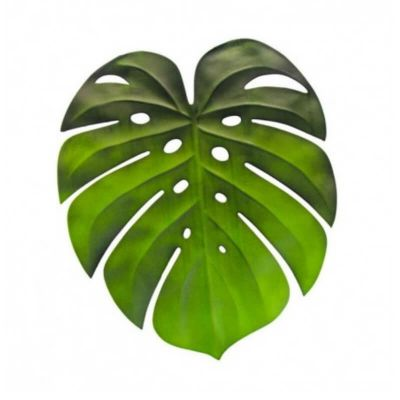 Set de table - Feuille tropicale Monstera | jourdefete.com