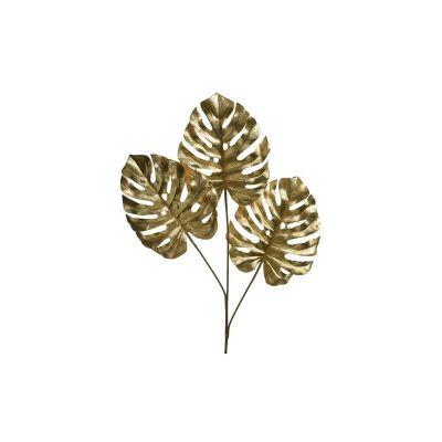 feuilles-or-monstera-tropiques   jourdefete.com