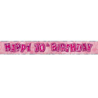 Bannière anniversaire 70 ans