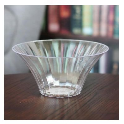 Vase en Plastique Transparent Evase 18 cm - Candy Bar | jourdefete.com