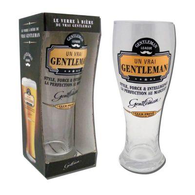 verre à bière de la collection gentleman | jourdefete.com