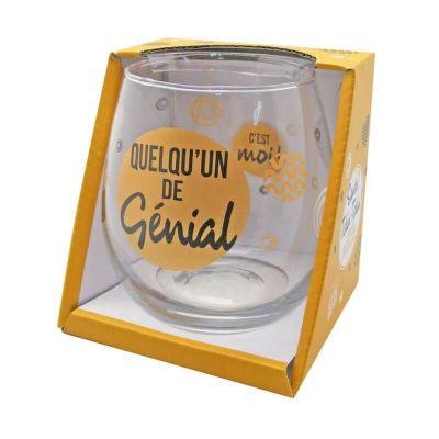 verre cadeau apéro avec message modèle au choix | jourdefete.com