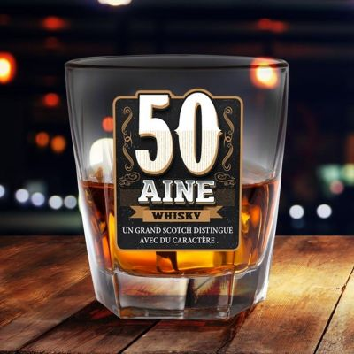 Verre à Whisky - 50 Aine