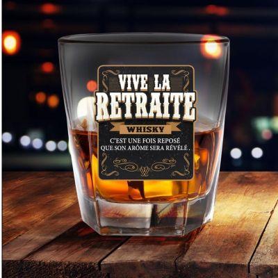 Verre à Whisky - Vive La Retraite