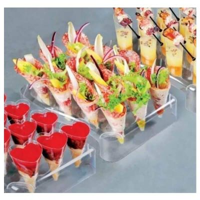 5 presentoirs verrines 60 amuses-bouche - Finger food design | jourdefete.com