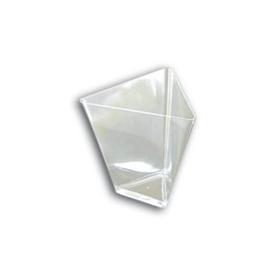 25 Verrines Coupelles - Triangle - Transparent | jourdefete.com