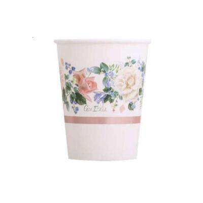 verres-rose-fleurs-mariage jourdefete.com