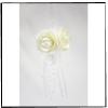 Suspension Roses et Perles - Blanc