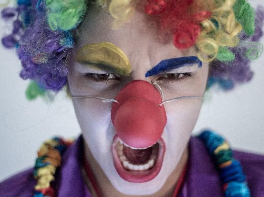 Déguisement adulte de Clown