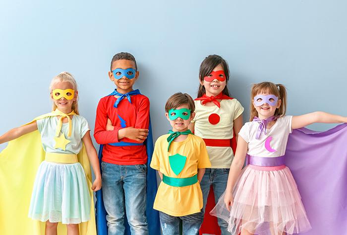 Déguisement pour enfant thème Super-Héros