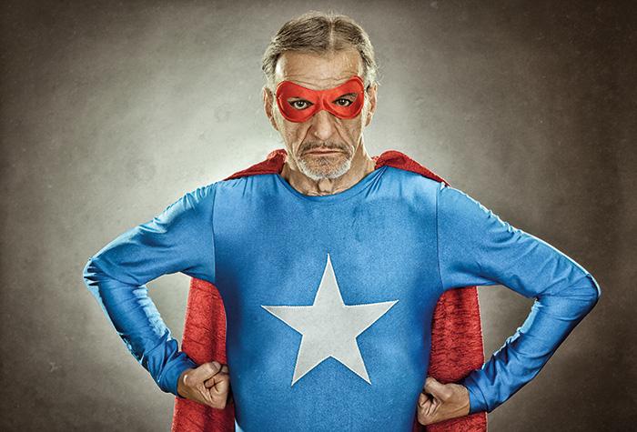 Déguisement adulte Thème Super-Héros