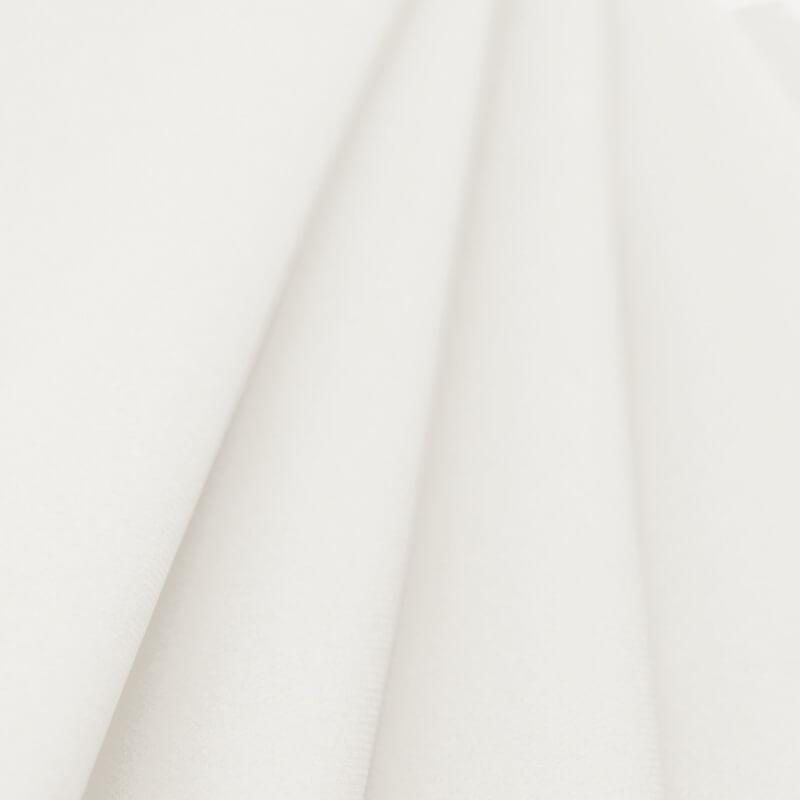 rouleau de nappe en voie sèche intissé blanc 10 m - jour de fête