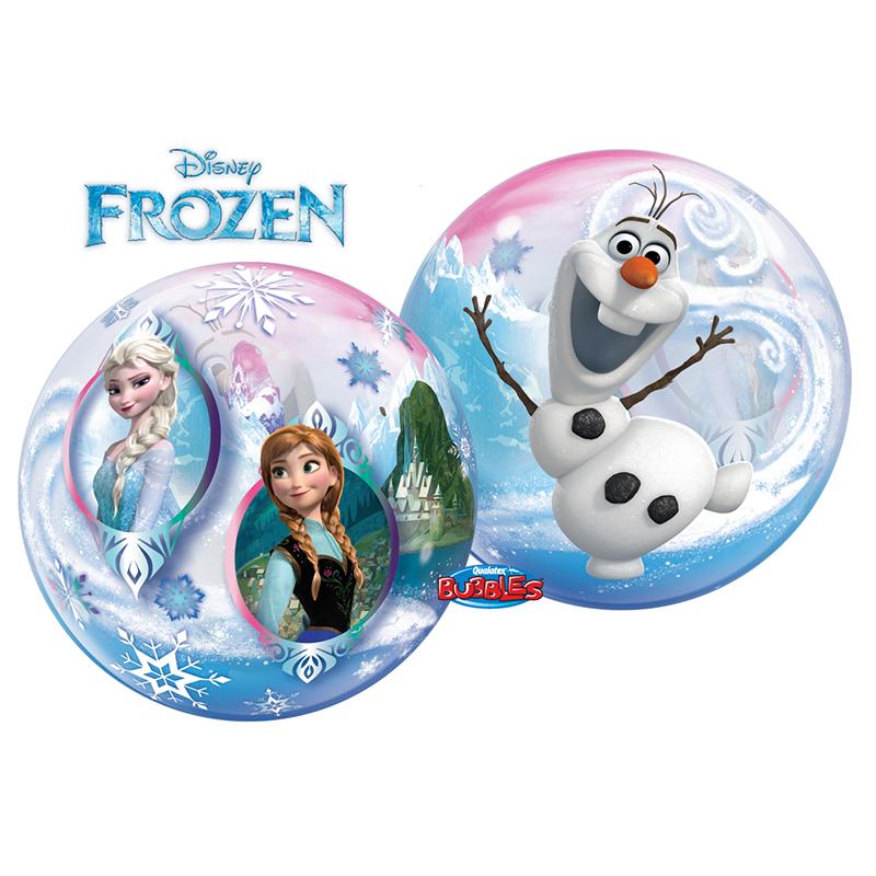 Ballon Disney La reine des neiges hélium