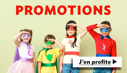 Promotions déguisements
