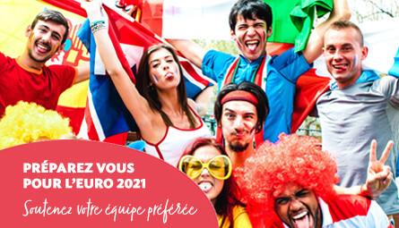 Décoration et accessoires Supporter euro 2021