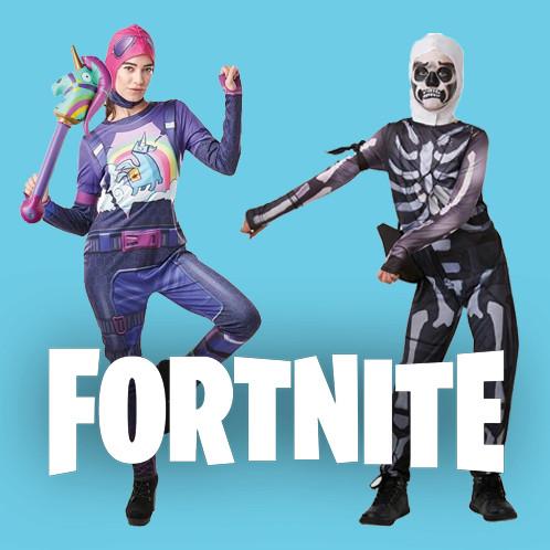 Les déguisements et accessoires de vos personnages favoris du jeu Fortnite