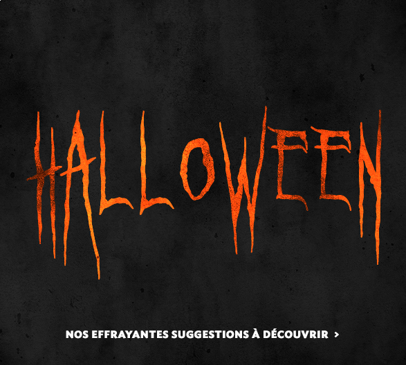 Préparez votre Halloween